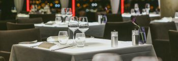 Table setting at Panoramic 34